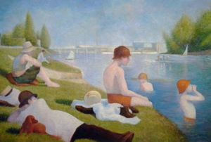 Seurat's Bathers at Asnieres by Fabulous Masterpieces