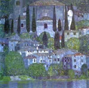 Klimt's Church in Cassone