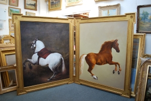 Art Reproduction of Stubbs' Whistlejacket