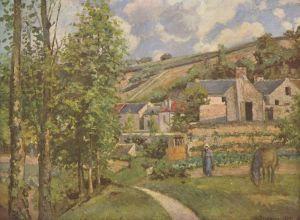 Pissarro Landscape at Pontoise