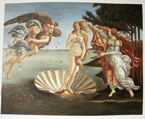 Botticelli The Birth of Venus - Art Reproduction