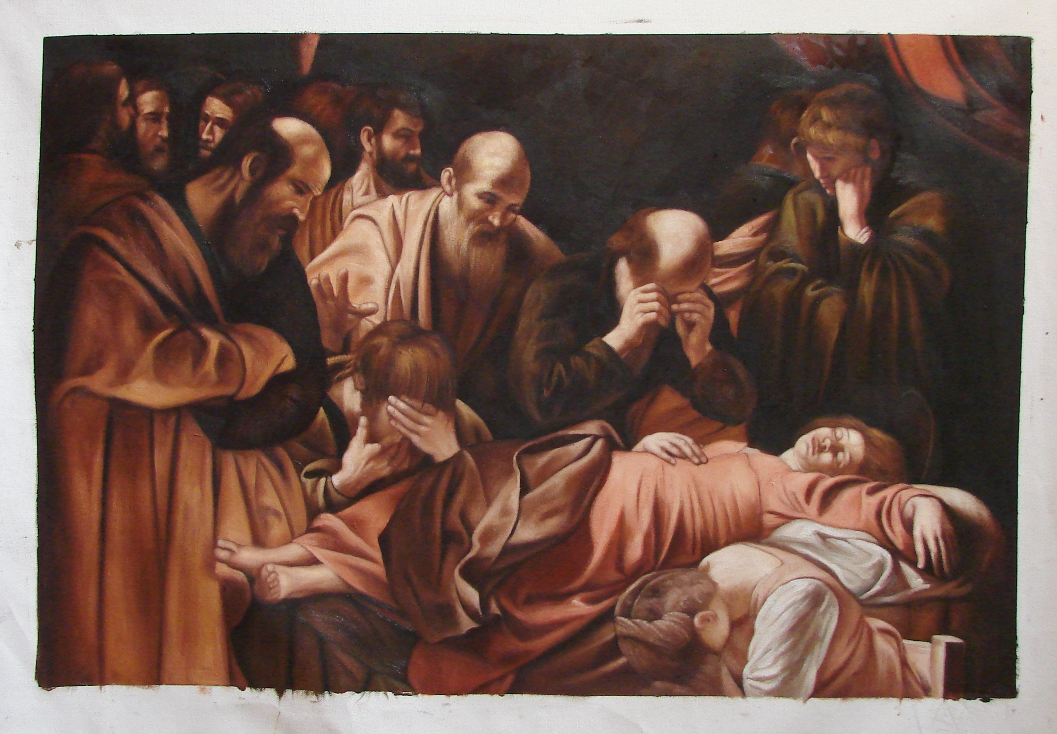 Caravaggio Death Of The Virgin