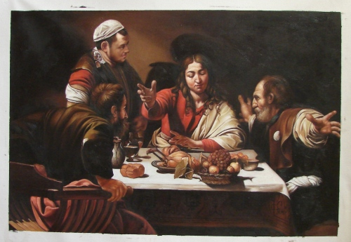 Caravaggio Supper At Emmaus