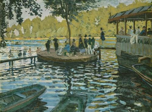 Monet La Grenouillére