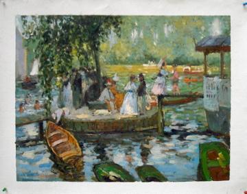 Renoir La Grenouillere by Fabulous Masterpieces