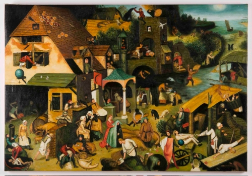 Bruegel Netherlandish Proverbs by Fabulous Masterpieces