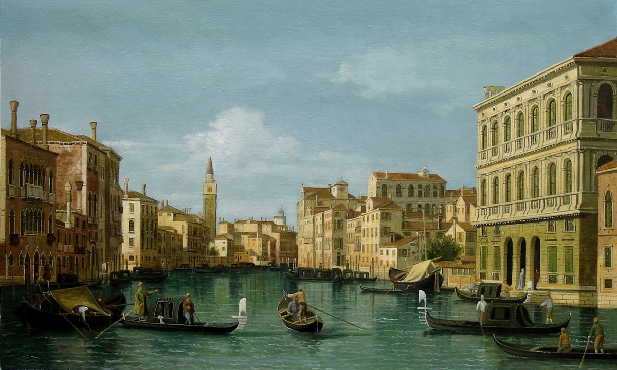 Canaletto - The Grand Canal, Venice