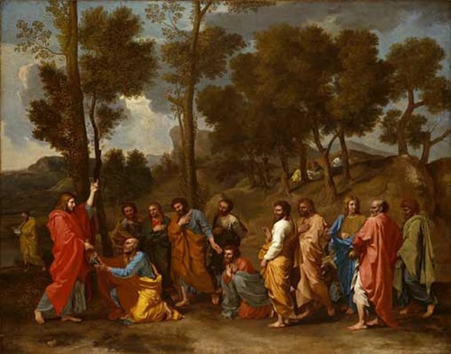 Poussin's Ordination