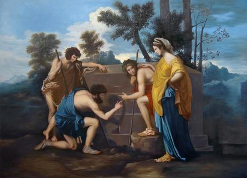 Poussin - The Arcadian Shepherds