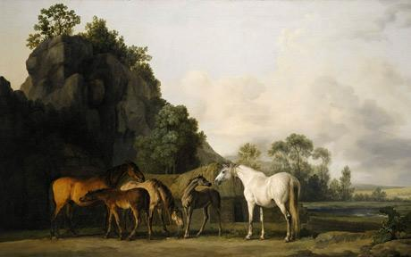 Stubbs - Brood Mares and Foal