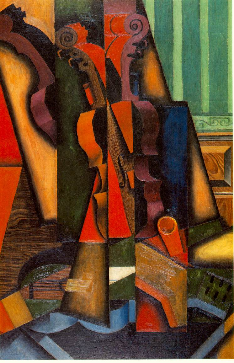Juan Gris Violin And Guitar Sold For A Record Breaking 286
