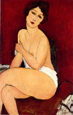Modigliani la belle romaine