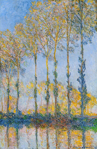 Monet's Les Peupliers