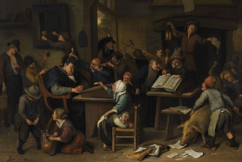 Jan Steen's, A School Class